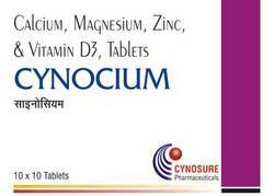 Calcium Magnesium Zinc Vitamin D3 Tablet
