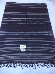 Viscose Heavy Quality With Lurex Stripes Stoles
