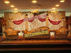 Asian Wedding Elegant Sofa Set
