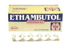Ethambutol Tablets 200 Mg. / 400 Mg. / 600 Mg. / 800 Mg.