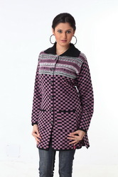 Ladies long sweater 10