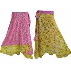 Vintage Saree Skirt