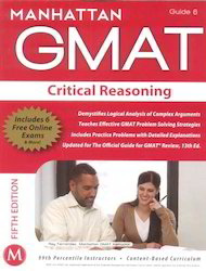 Manhattan GMAT Critical Reasoning