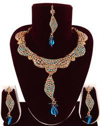 Polki Bridal Necklace Set