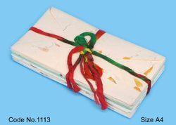 Flower Petal Handmade Paper Correspondence Stationery Set