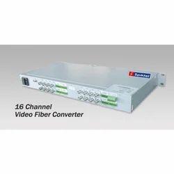 Video Fiber Convertor ST-16 Channel