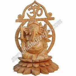 Wooden Carving Ganesh