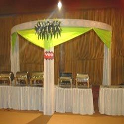 Decorated Wedding Stalls