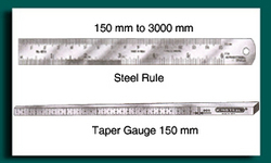 Taper Gauge/ Steel Rule