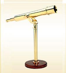 Brass Table Telescope