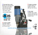BDS MAB 100 - Magnetic Core Drilling Machine