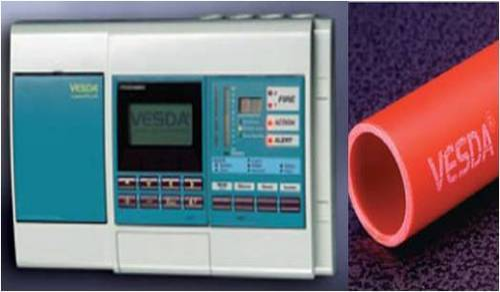 Early Smoke Detection Aspiration System Vesda Katsun