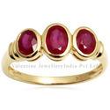 Gemstone Ruby Ring