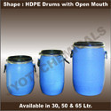 Open Mouth HDPE Drums