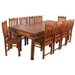 Takhat Dinning Table Set With 10 Chairs