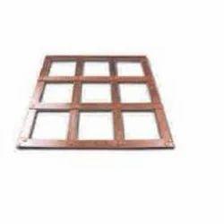 Lattice Copper Earth Plate