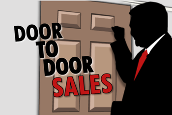 Sales agency door to door sales from mumbai for Door to door salesman