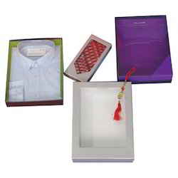 Shirt Boxes With Windows In Various Patterns