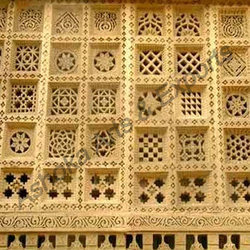 Marble Lattice Wall