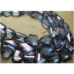 Tanzanite Blue Mystic Quartz Faceted Faceted Nuggets