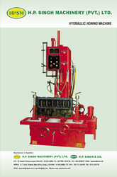 hydraulic honning machine