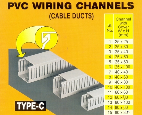 pvc wiring channels wiring channels manufacturer from daman rh indiamart com Basic Electrical Wiring Diagrams 120V Electrical Switch Wiring Diagrams