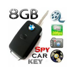 Spy BMW Car Keyring Camera