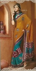 Fancy Voile Sarees