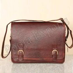 Leather Messenger Bag ( Product Code: YH68)