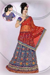 Mesmerizing Navy Blue Lehenga Choli Item Code: IV43908