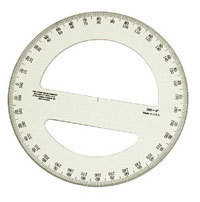 Plastic Protractors Circular