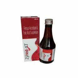 Ferrous Ascorbate 30 mg   Folic Acid 500 mcg Syrups
