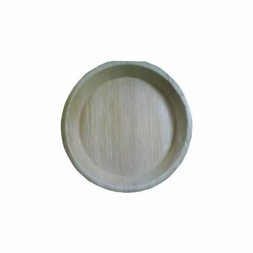 Round Shaped Areca Plates