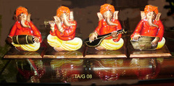 Ganesha Musician Set