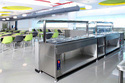 Corporate Cafeteria Kitchen Equipmen