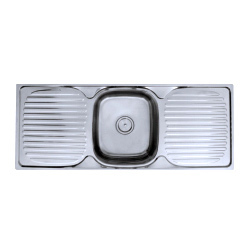 Kitchen Sink With Both Side Drain Borad