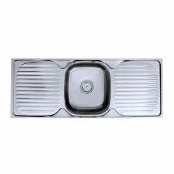 Kitchen Sink With Both Side Drain Borad
