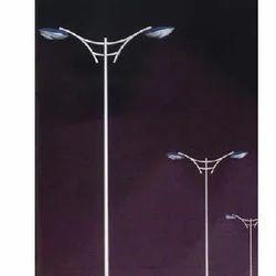 Double Arm Street Light Poles