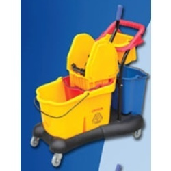 Multifunction Mop/Wringer Trolley