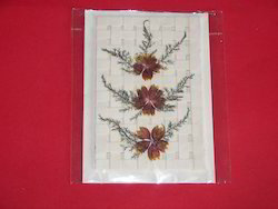 dried flower greeting cards