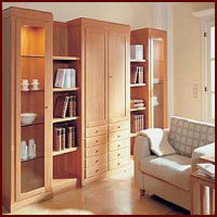 Wooden Library