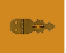 Brass Hasp & Staples