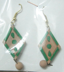 Terracotta High Fashion Earrings