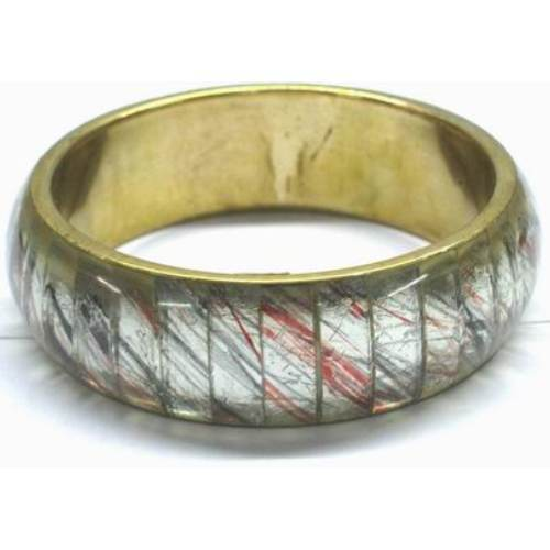 Metal Resin Bangle