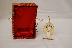 Gold Plated Leaf Watch