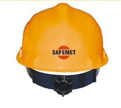 Safety Helmet With Ratchet Adjustment