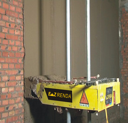 Automatic Wall Plastering Machine