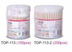 Paper-Stem Cotton Buds