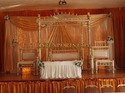Asian Wedding Stage Royal Jhula Set