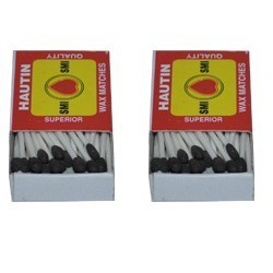 Safety Wax Match Boxes